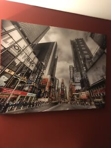 Large New York City Canvas Picture