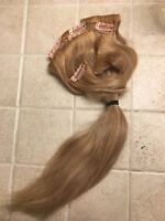 """14"""" blond hair extensions"""