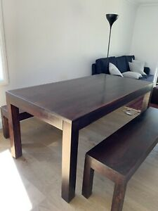 Modern dining table, coffee table, side tables, TV unit, bookcase
