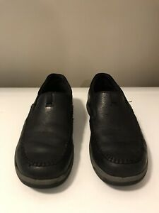 Men's Black Leather Shoes - Clarks