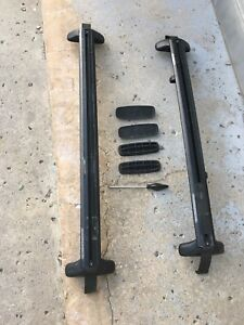 Barres toit, roof rack, porte bagages Toyota Yaris ORIGINAL