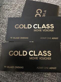 Gold Class tickets*2