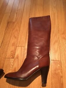 Italian  leather boots size 9