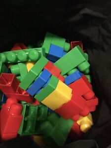 Shopping bag of mega blocks