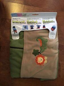 Infant stroller/car seat blanket