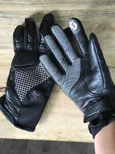 Scott Mesh Leather Gloves Women ladies small 6 Motorcycle, ATV