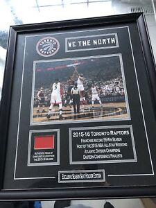 Toronto Raptors 2015 - 2016 Exclusive Season Seat Holder Plaque