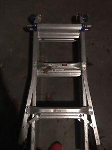 Werner fold away ladder 13 ft.