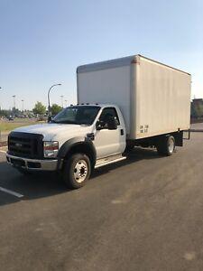 f550 16ft box truck