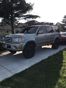 Lifted Toyota Sequoia limited