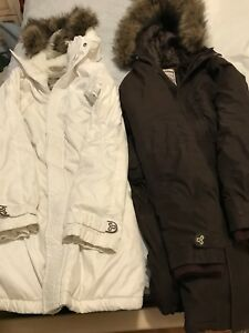 Tna parkas and vest