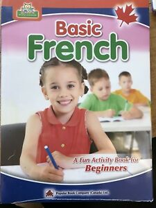 NEW FRENCH Activity educational books