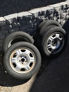 Michelin X-ice Winter Tires 215/60R16 and Rims