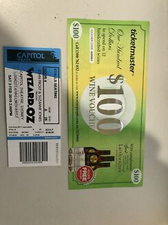 Wizard of oz ticket Sydney