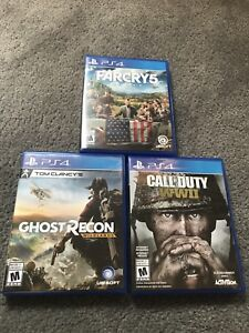 PS4 Games Sale or Trade! Make an Offer!