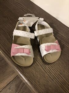 NEW Toddler Girls Sandals (size 5)