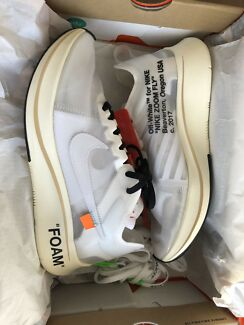 Nike x off-white zoom fly us 7