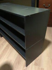 2 Stacking Shoe Shelves