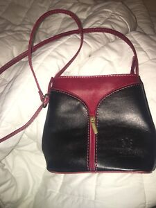 Leather Italian handbag