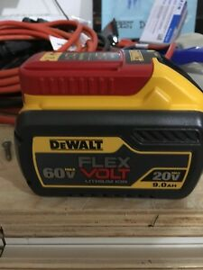 Dewalt 9ah Flex volt battery + charger