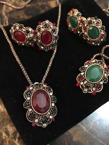 Turkish jewelry set NEW with tags
