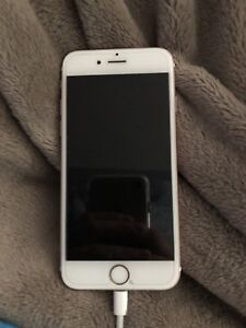 Iphone 6s rose gold with bell! mint condition