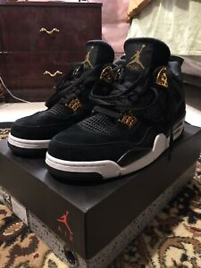 "5c6302016b15 Air Jordan 4 Retro ""Royalty""  SIZE 12 9 10 condition"