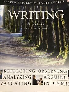 Writing a Journey Canadian edition