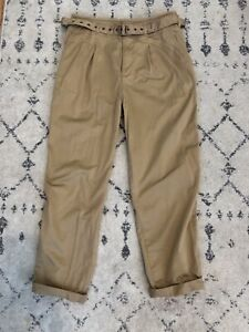 GAP chino beige pants. Size 6. Worn once.