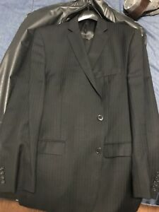 CK Black Men's Suit