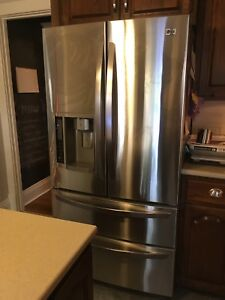 "LG 36"" Stainless French Door Refrigerator"