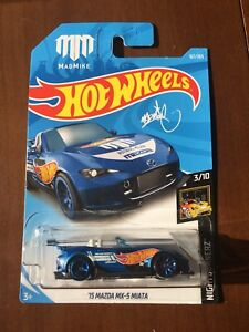 2018 Hot Wheels Mazda MX-5 Miata