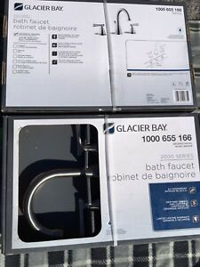 2 Brand NEW Faucets - STILL IN BOX!