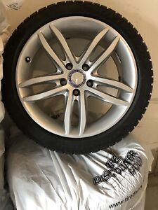 Mercedes Winter Tires/Rims C300 W204 Factory Staggered Pirelli