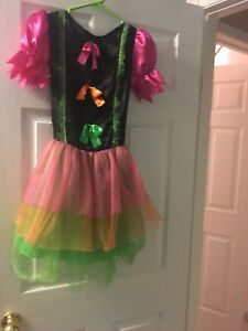 Girls' Bright Witch Halloween Costume