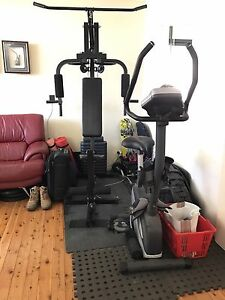 Home gym set with bike Beverly Hills Hurstville Area Preview