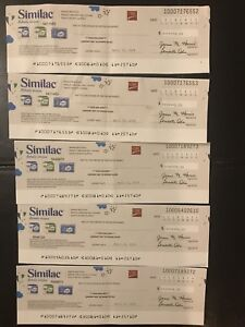$25 worth of similac cheques