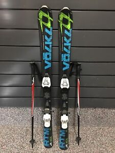 Volkl Skis and poles