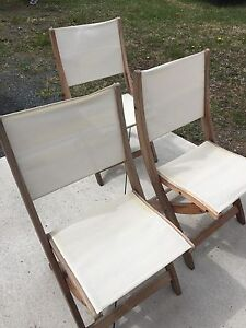 Patio chairs- price reduced