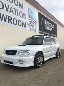 2002 Subaru Forester Sti