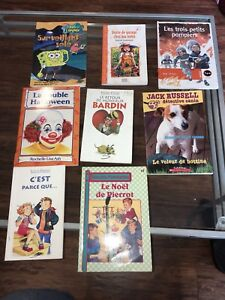 FRENCH CHILDRENS CHAPTER BOOKS