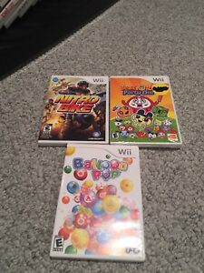 3 Wii Games for $12