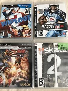 New and used PS3 games