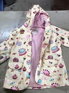Kids Rain Coat size 5