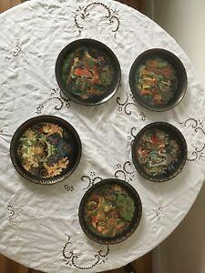 Bradford Exchange Russian Fairy Plates