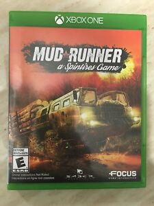 Spintires Mud Runner ( Xbox One )