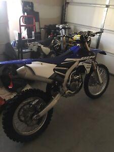 15 Yamaha WR250