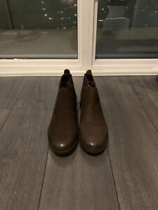 STEVE MADDEN Brown Ankle Boots 7