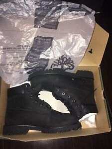 Black Timberland boots Brand New