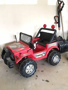 Battery Operated Children's Jeep